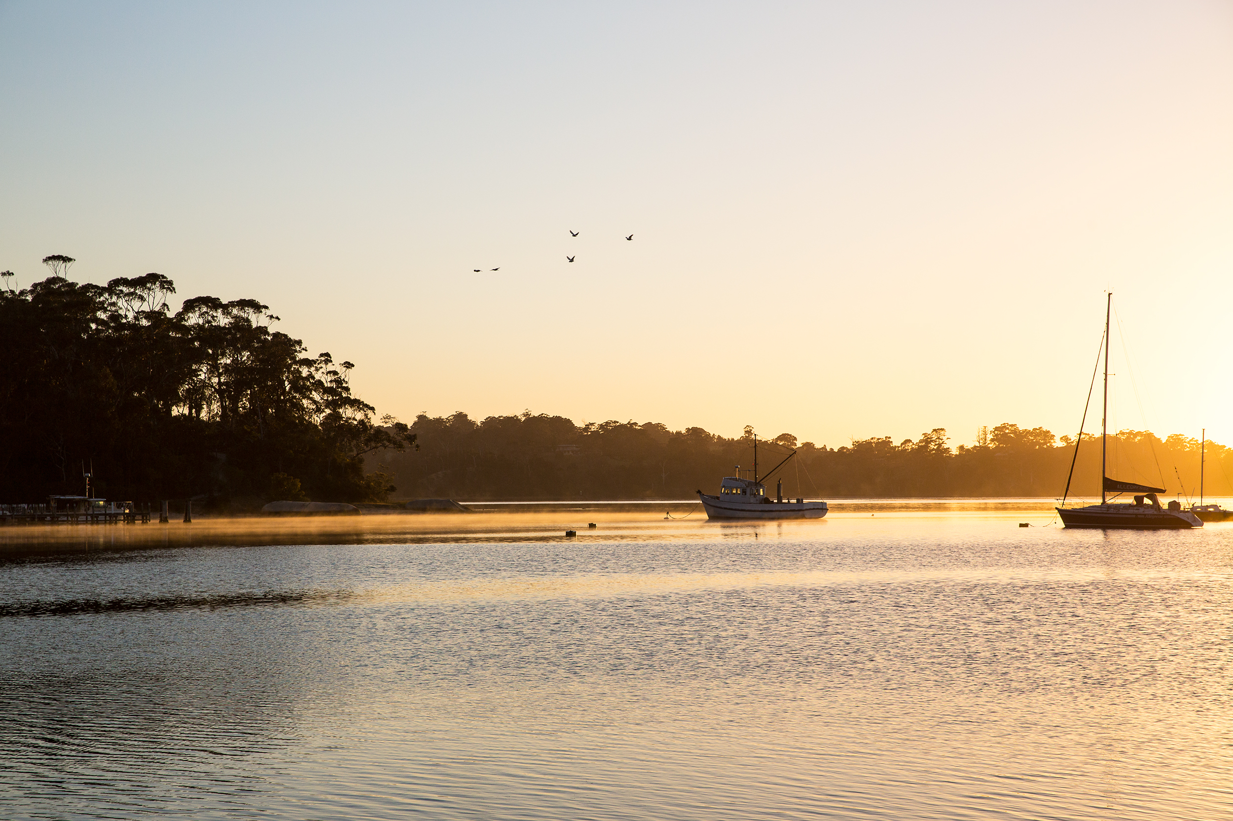 Sunrise Gippsland Lakes